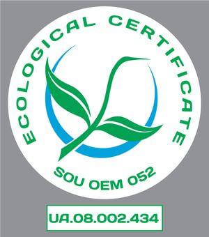 Еко-сертифікація продукції Мак-Вар Екопродукт