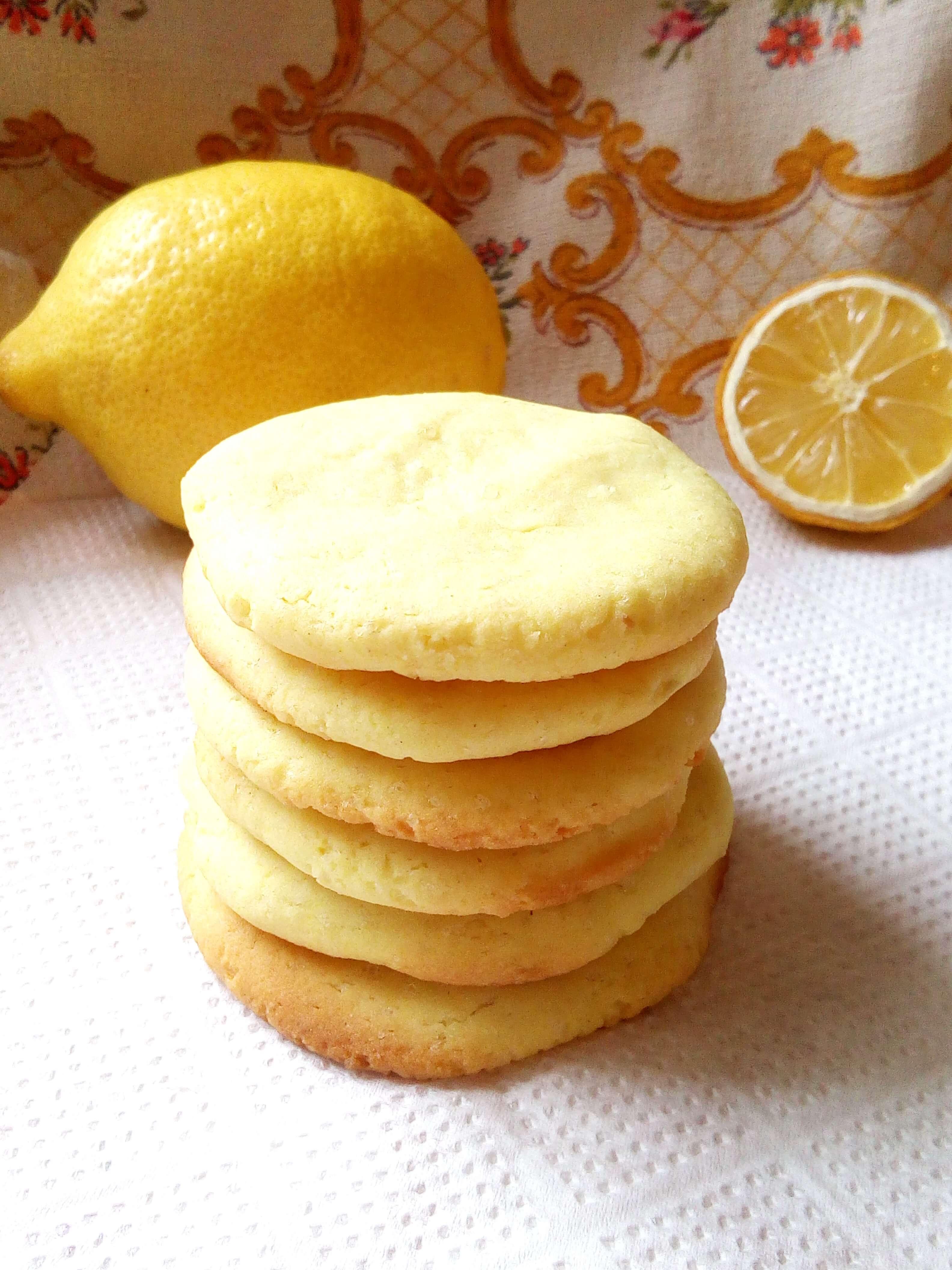 Постное лимонное печенье (3 Место конкурса)