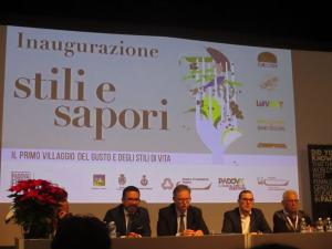 "The exhibition ""Stili and Sapori 2017"" (Italy, Padua)"